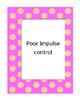 Impulse Control Social Skills Lesson