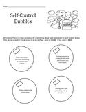 Impulse Control: self-control bubbles, certificate, bundle pack