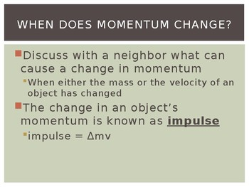 Impulse Notes