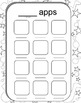 Imusic and apps Wall Display Activity Printables--All abou