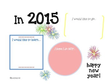 In 2015... Writing Prompt Poster