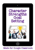 In 2019 I want to be a little more... Character Strengths Goal Setting