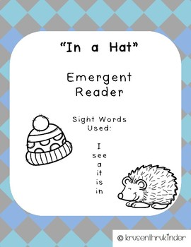In A Hat: An Emergent Reader