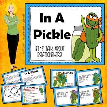 In A Pickle-About Relationships Social Skills Cards