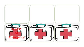 In Case of Emergency Contact card