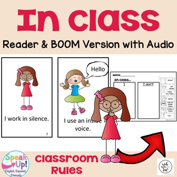 In Class Emergent Reader Book & Sorting Page ~ Classroom Rules & Expectations