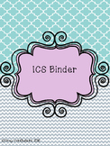 Special Education Resource In Class Support Binder