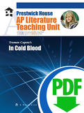 In Cold Blood AP Teaching Unit