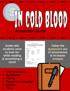In Cold Blood Annotation Guide