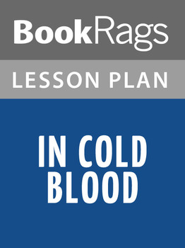 In Cold Blood Lesson Plans