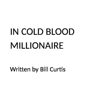 In Cold Blood Millionaire