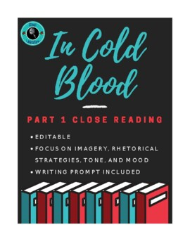 In Cold Blood Part I Close Reading