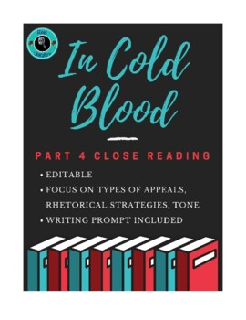 In Cold Blood Part IV Close Reading