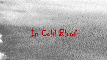 In Cold Blood Teaching Unit