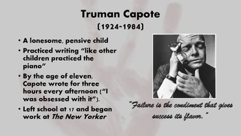 In Cold  Blood by Truman Capote: An Introduction