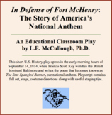 In Defense of Fort McHenry:  The Story of America's National Anthem