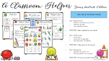 In English Please - Differentiated Worksheets