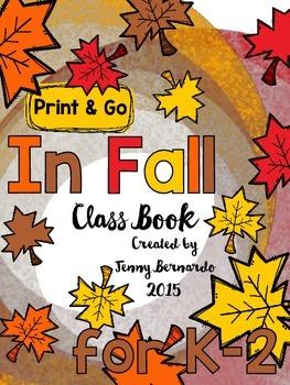 In Fall Print & Go Class Book