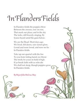 In Flanders Fields Printable