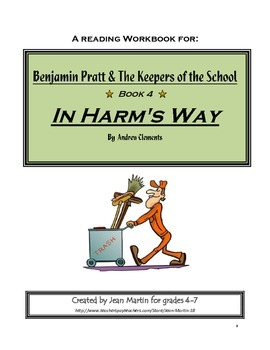 In Harm's Way, by Andrew Clements: A Reading Workbook Crea