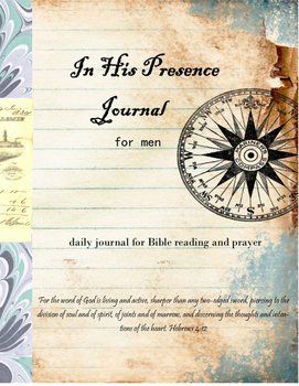 In His Presence Journal for Men
