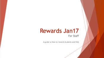 In-House Whole School Rewards System