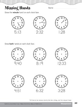 In Just One Minute (Telling Time)