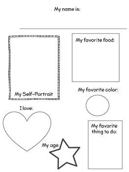 In Kindergarten- Memory Book