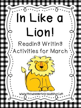 First Grade Reading: In Like a Lion