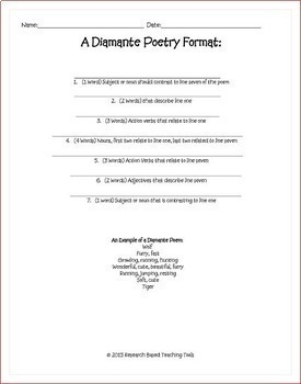 Spring Activities: Math Grid Art and Poetry