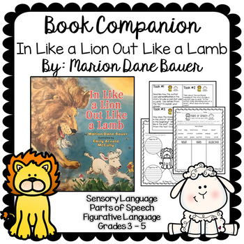 In Like a Lion Out Like a Lamb Book Companion 3, 4, 5