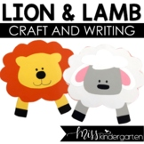Lion and Lamb- Weather Craft and Writing Templates