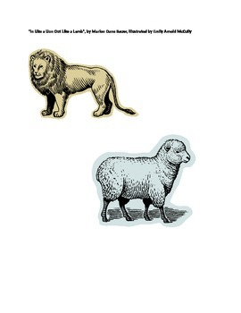 """""""In Like a Lion and Out Like a Lamb"""" activities"""