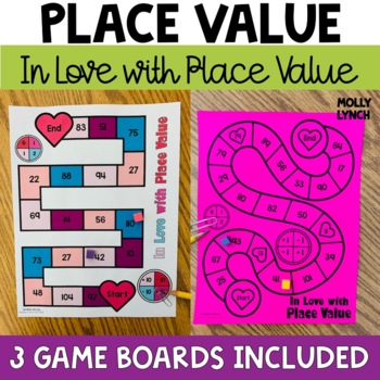 In Love with Place Value {Place Value Games}