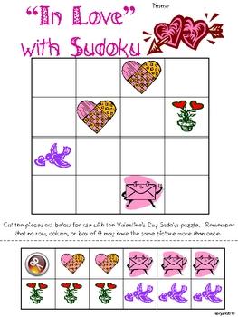 Valentine's Day Primary Sudoku
