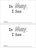 In May Emergent Reader Preschool Kindergarten Months of the Year