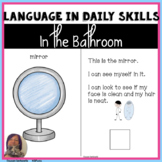 Life Skills Routines | Bathroom Vocabulary Questions Sequences Speech Therapy