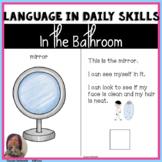 Life SKills: Bathroom Vocabulary & Tasks for Autism, Speci