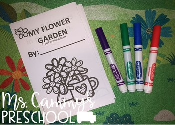 My Flower Garden Booklet (1-10 Counting Book)