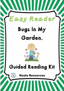 Bugs in my Garden Easy Reader Guided Reading Kit