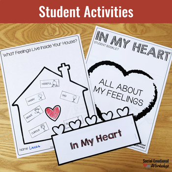 In My Heart Interactive Read Aloud with Feelings and Emotions Activities
