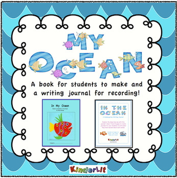 My Ocean Collage Book and Writing Journal for Ocean Animals