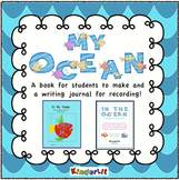 Ocean Animals - A Collage Book and Writing Journal