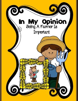 In My Opinion Being A Farmer Is Important