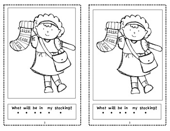 In My Stocking-Kindergarten Emergent Christmas Reader