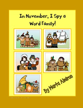 In November, I Spy a Word Family!