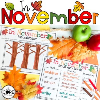 In November: Interactive Read-Aloud Lesson Plans and Activities