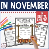 In November by Cynthia Rylant Book Companion in PDF and Digital formats