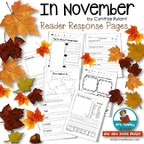 In November | Cynthia Rylant | Book Companion | Distance Learning