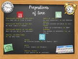 In On At: Prepositions of time